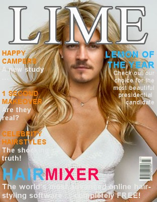 Front cover of Lime mag…lovely